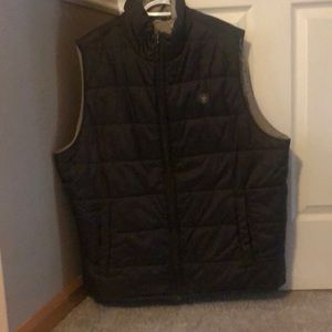Ariat reversible brown vest. XXL